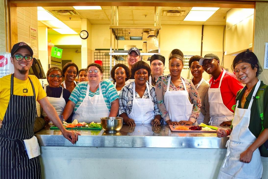 Food Centre – Serge Ibaka Foundation